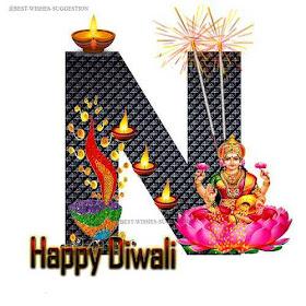 Diwali-N-Alphabet-Images
