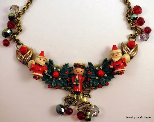 Christmas and the art of jewelry, or why I've been distracted for two days!