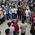 Fikar Azami, Yos Adrino dan Ferry Satria Iringi Tale dan Dikalungi Selendang Batik Saat Blusukan di 5 Luhah Sungaipenuh