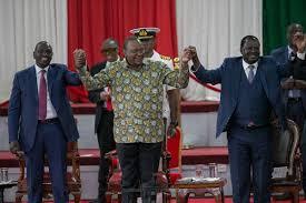 The Presidency and ODM leader Raila Odinga. PHOTO | FILE