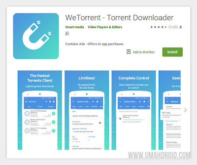 WeTorrent Client Open Source Android