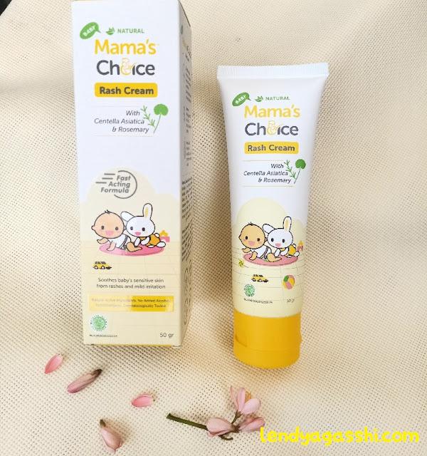 Alasan Memilih Produk Mama's Choice Rash Cream