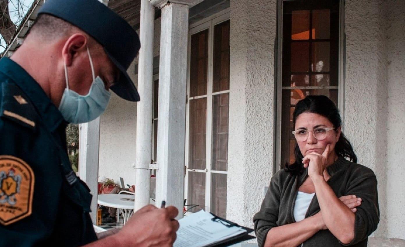 Detuvieron a Dolores Etchevehere y los militantes del Proyecto Artigas se retiraron de la estancia