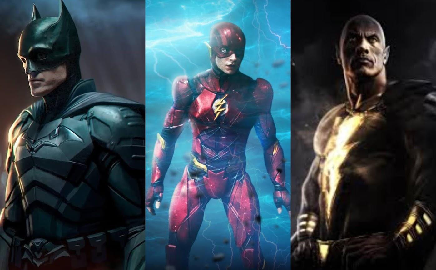 Batman, The Flash, Shazam 2