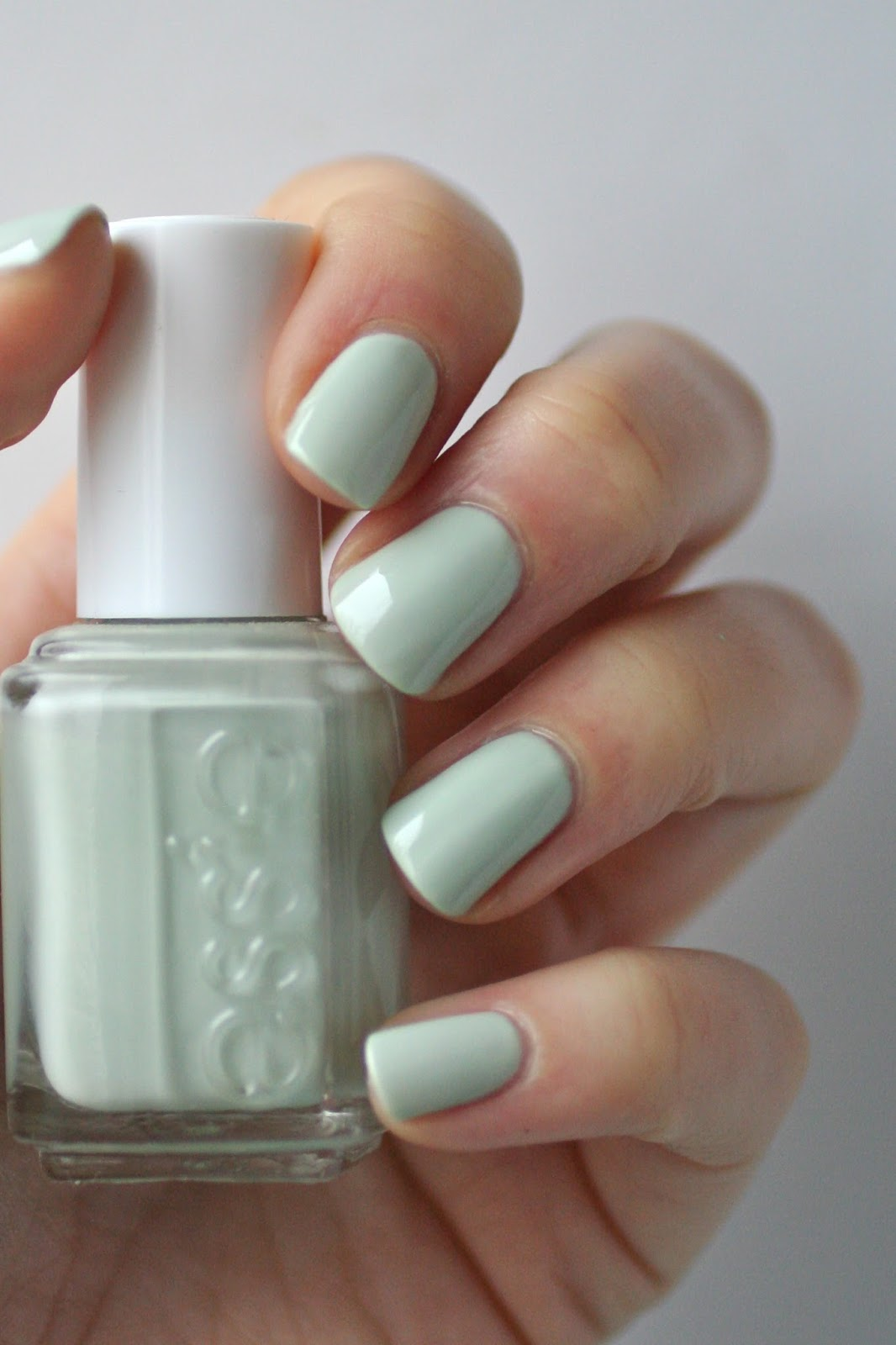 Essie Mint Comparison New Mint Candy Apple Old Mint Candy Apple Blossom Dandy Fashion