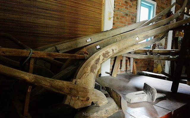 Luku, alat tradisional untuk membajak sawah/ladang