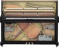 Yamaha Transacoustic hybrid piano