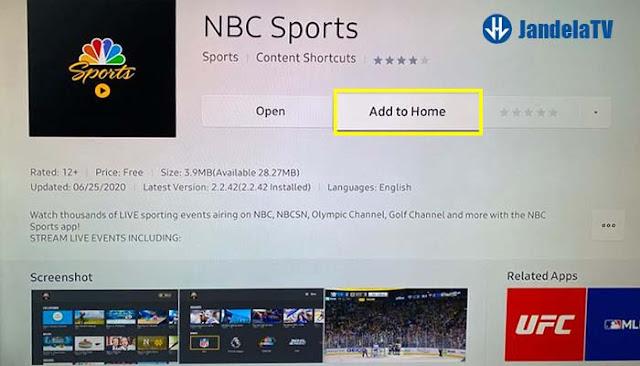 cara update aplikasi di smart tv samsung