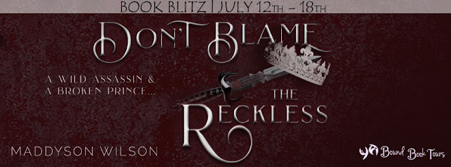 {Giveaway} Don't Blame the Reckless by Maddyson Wilson