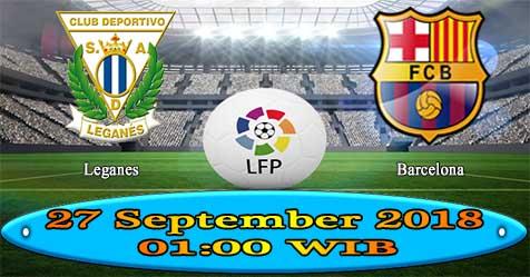Prediksi Bola855 Leganes vs Barcelona 27 September 2018