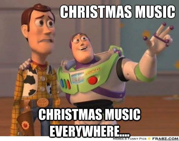 Cute Xmas music meme - credit unknown