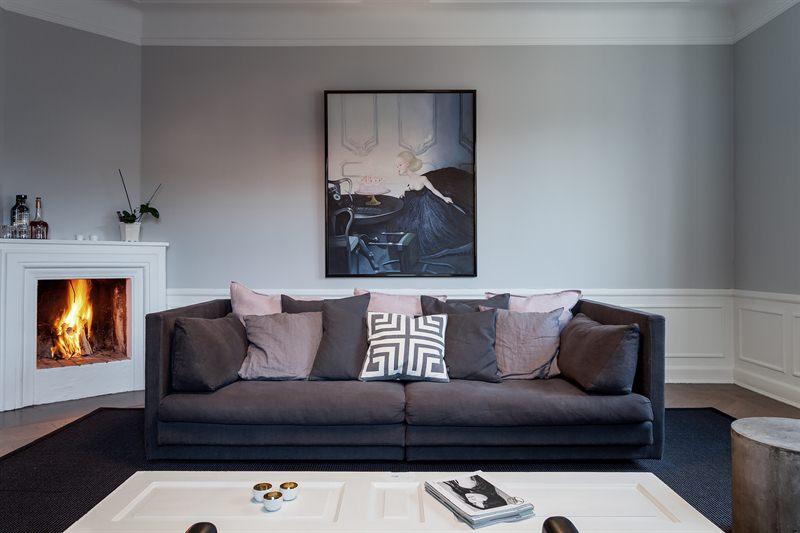 Classy living room for Al saffar interior decoration l l c