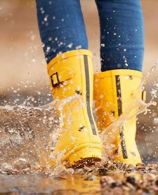 sepatu boot hujan