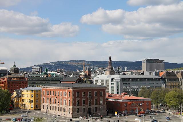 Näkymä Oslon Oopperatalosta