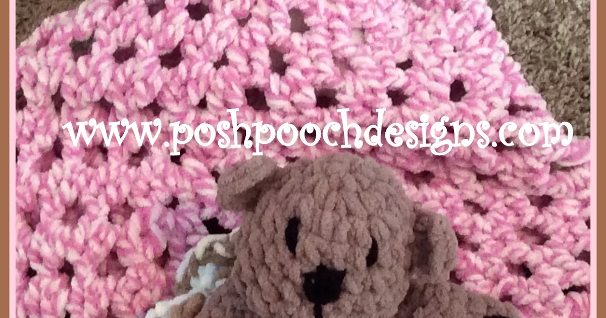 Posh Pooch Designs Dog Clothes The Fuzzy Blanket Lovey