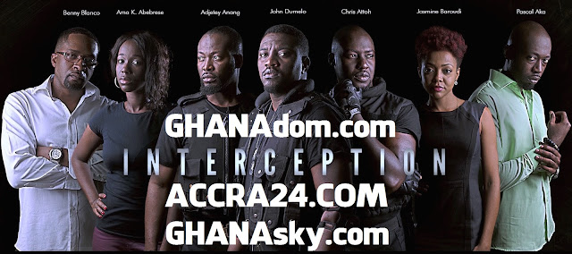 [Video] New Ghanaian thriller INTERCEPTION ACTION MOVIE starring John Dumelo, Adjetey Anang, Chris Attoh, Ama K. Abebrese