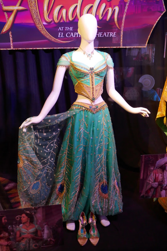Aladdin Princess Jasmine peacock costume