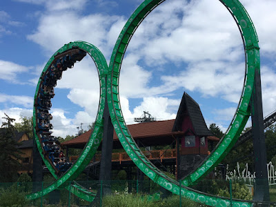 Legendia rollercoaster Diabelska Pętla w Chorzowie