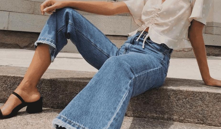 Tendência: Calça Wide Leg Jeans