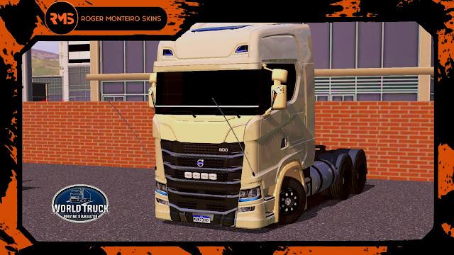 Skins World Truck, Novo Volvo 800, Novo Volvo, Skins Wtds, Scania S