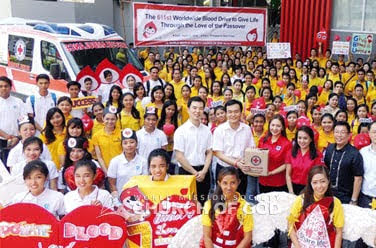 Blood drives - Manila, Mandaluyong, Las Piñas, at Parañaque