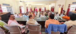 #JaunpurLive : ग्राम प्रधान एवं बीडीसी सदस्यों का हुआ सम्मान