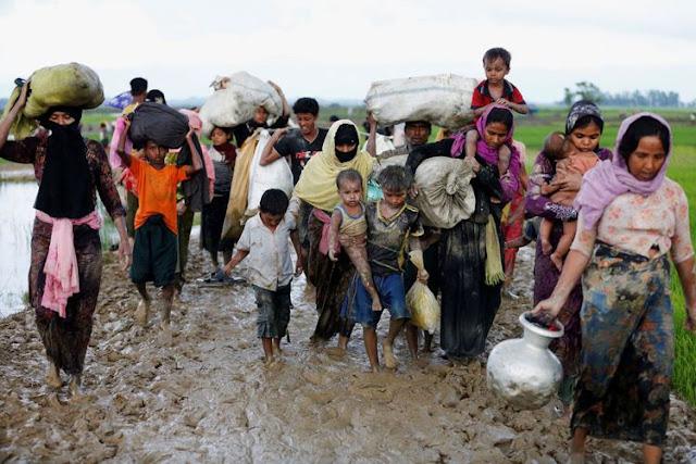 Presiden Jokowi Mengirim Menlu Untuk Meminta Agar Pemerintah Myanmar Segera Hentikan Kekerasan