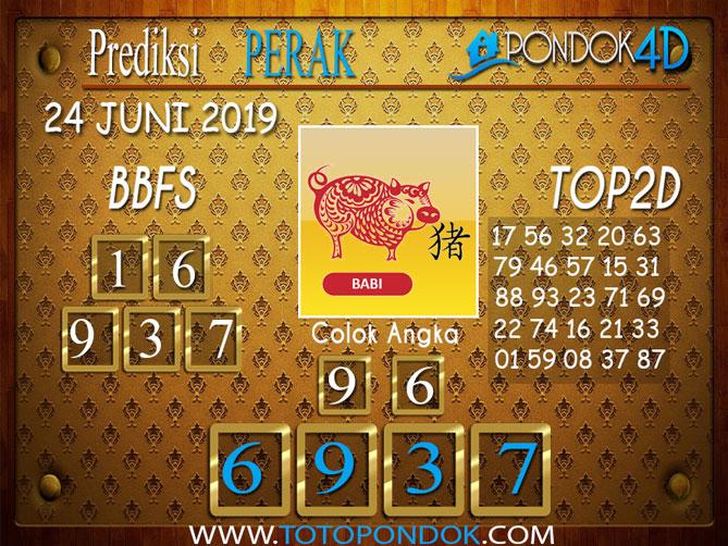 Prediksi Togel PERAK PONDOK4D 24 JUNI 2019