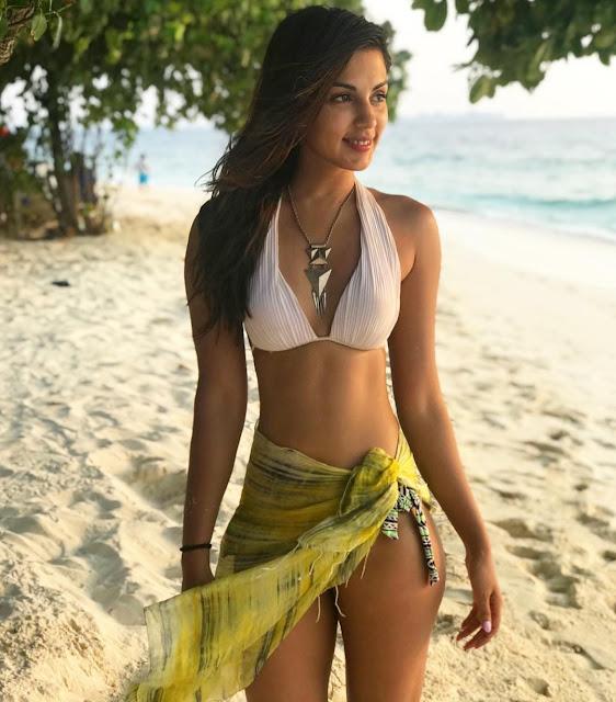 Rhea Chakraborty in bikini