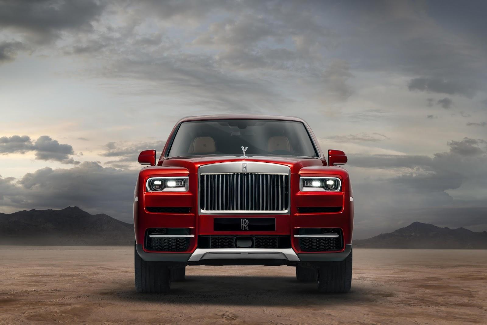 Rolls Royce Cullinan Suv Unveiled To Take On Bentley Bentayga