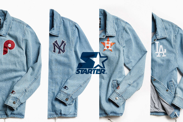 starter スターター yankees dodgers astros phillies