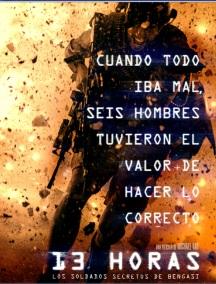 13 horas los Soldados Secretos de Bengasi en Español Latino