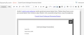 Contoh Surat Undangan Peresmian Kantor