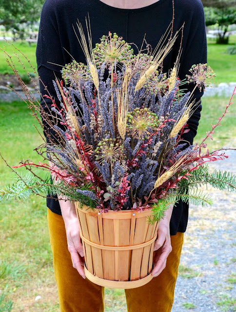 Beautiful Fall Lavender Bouquet