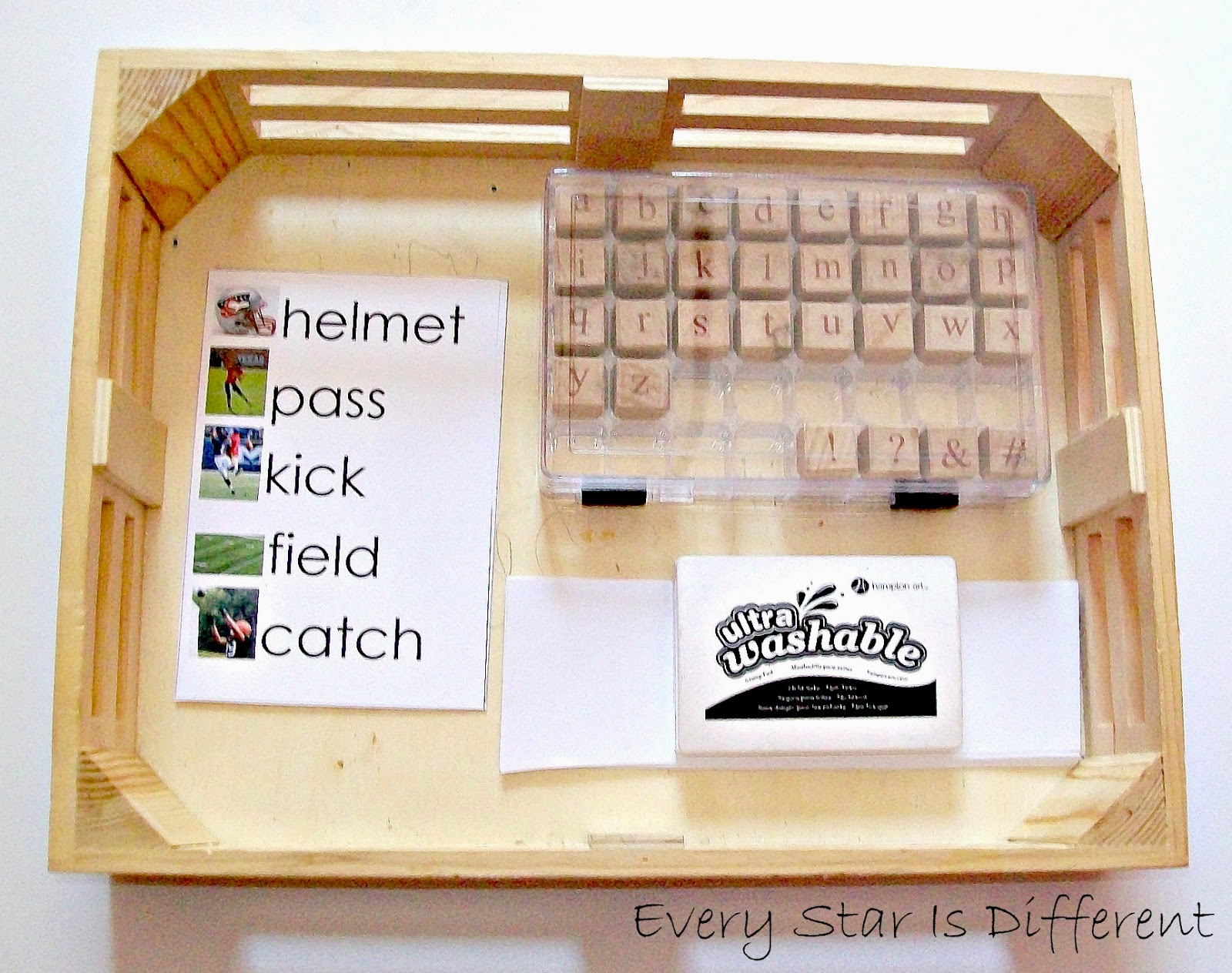 Football Spelling Activity