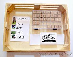 Football Spelling Activity