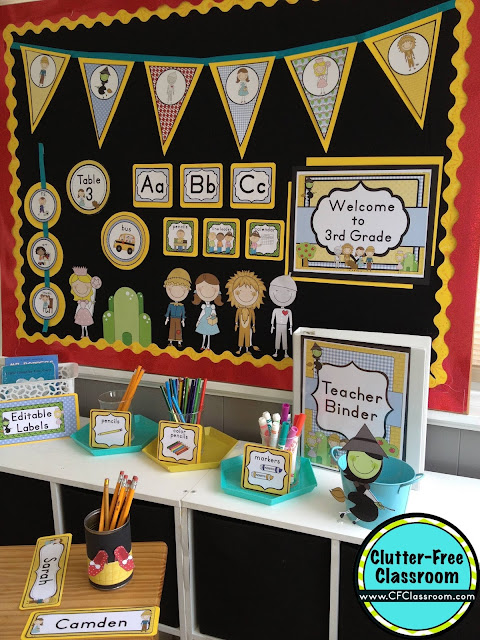 Classroom Decor Download : Wizard of oz themed classroom ideas printable