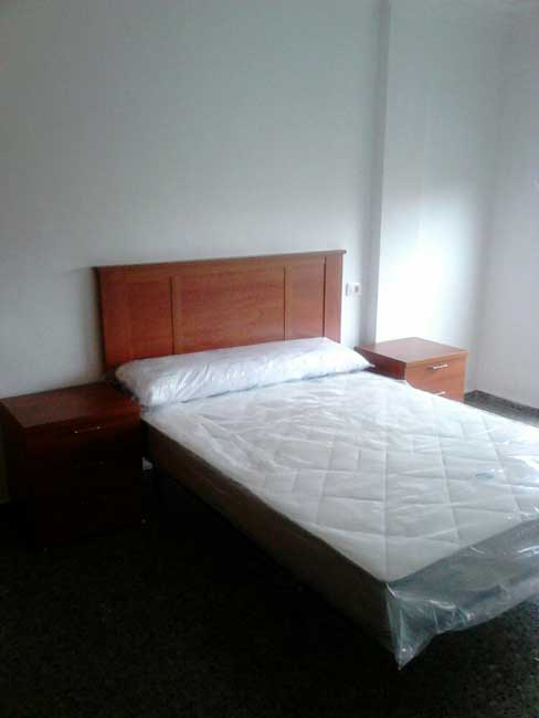 piso en alquiler zona hospital provincial castellon dormitorio