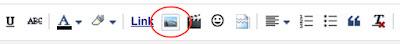 Blogger's insert image tool