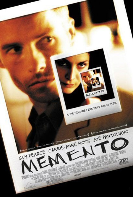 "Image result for Memento"" (2000)"