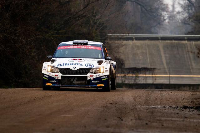 Skoda Fabia R5 rally car