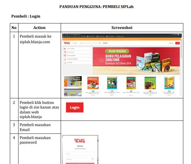 Download Panduan Pengguna SIPLah - Siplah Belanja - BLANJA.com