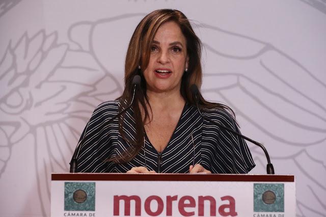 diputada Lorena Villavicencio Ayala (Morena)