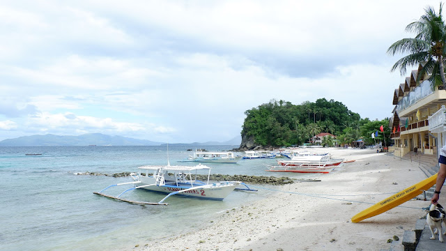 Big Lalaguna Beach, home of Scandi Divers Resort
