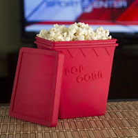 Microwave Popcorn Popper Maker - No Oil Needed #FatherDayGifts