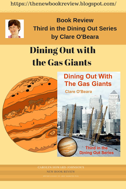Third in the Dining Out Series by Clare O'Beara Dining Out with the Gas Giants