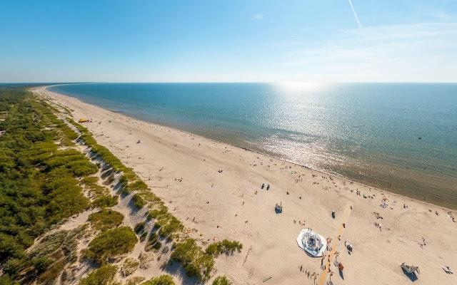 Beautiful beach in Latvia