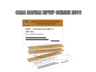 #9 Langkah Daftar NPWP Online Terbaru 2019 dengan Sekali Daftar Diterima