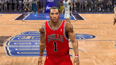 NBA 2K13 Derrick Rose Realistic Cyberface Patch