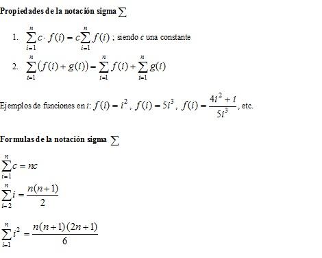 cierebsemb - Propiedades de la notacion sigma y suma de riemann